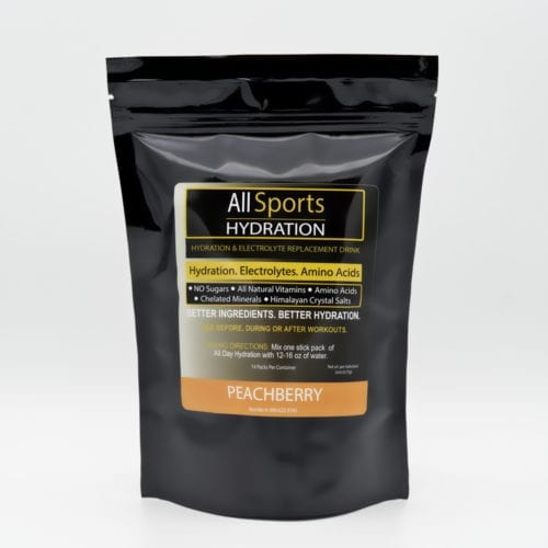 All Sports Hydration - Peachberry