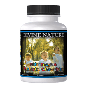 Divine Nature - Kids' Enzyme Probiotic Chewables