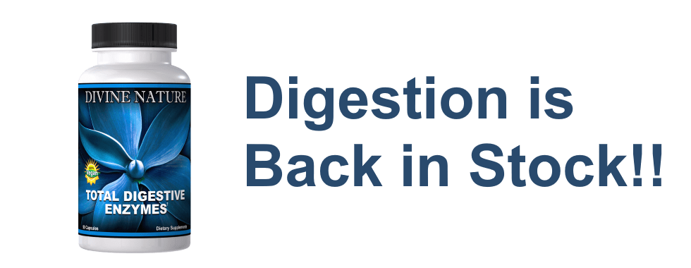 Digestion is back in stock