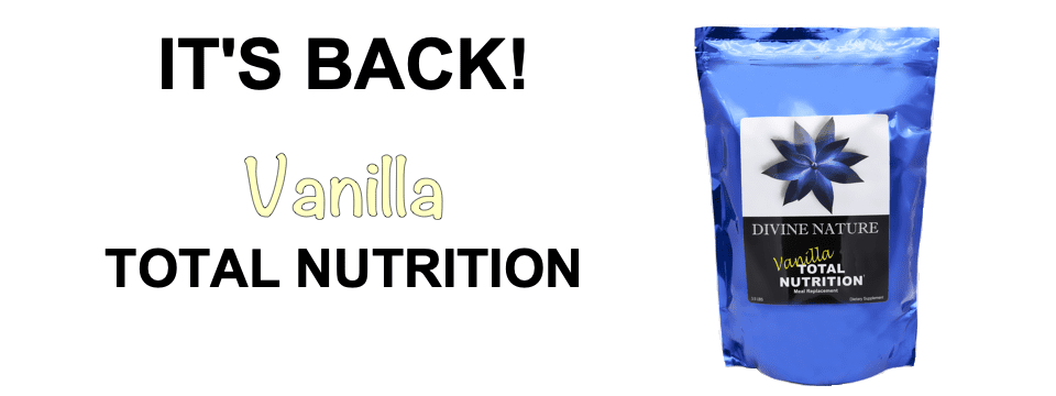 Total Nutrition Vanilla Is Back